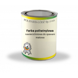 Polyvinyl topcoat paint for...