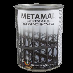 METAMAL water-bases topcoat...